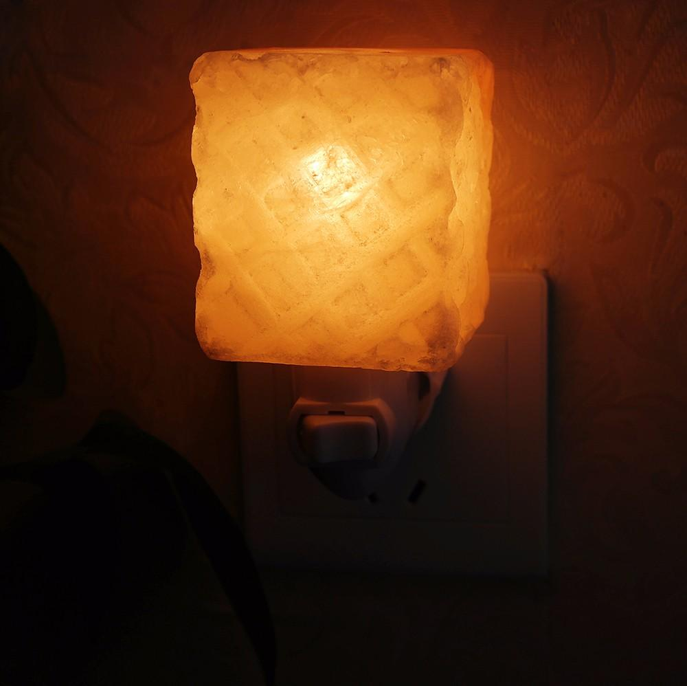 2017 Himalayan Crystal Salt Lamp Table Lamp Bedroom Adornment Night Light Plug In Natural ...