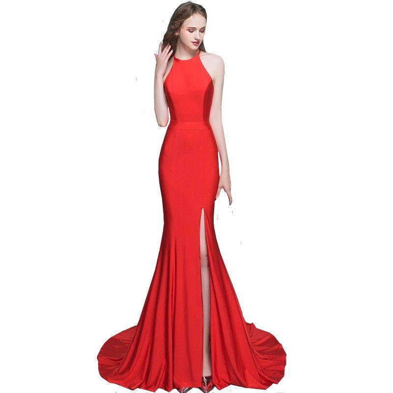 Discount Long Tight Black Prom Dresses  2017 Long Tight Black ...