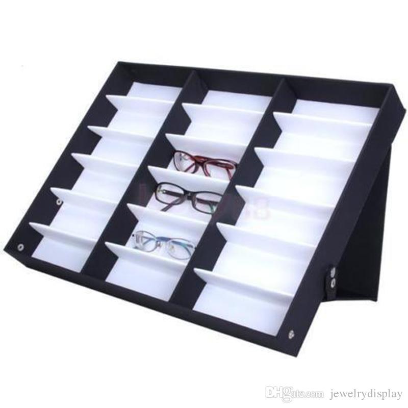 Eyeglass Frame Storage Trays : 2017 Glasses Storage Display Case Box Eyeglass Sunglasses ...