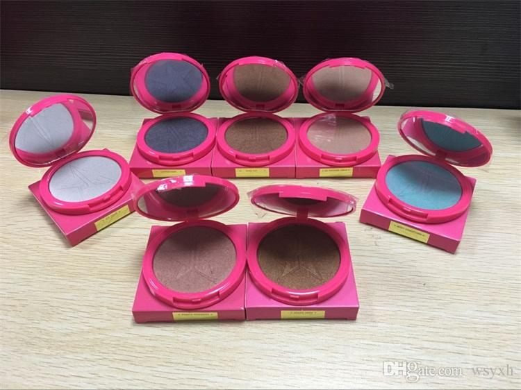Jeffree Star Skin Frost Bronzer Highlighters Five Star Glow Kit Ombre à paupière