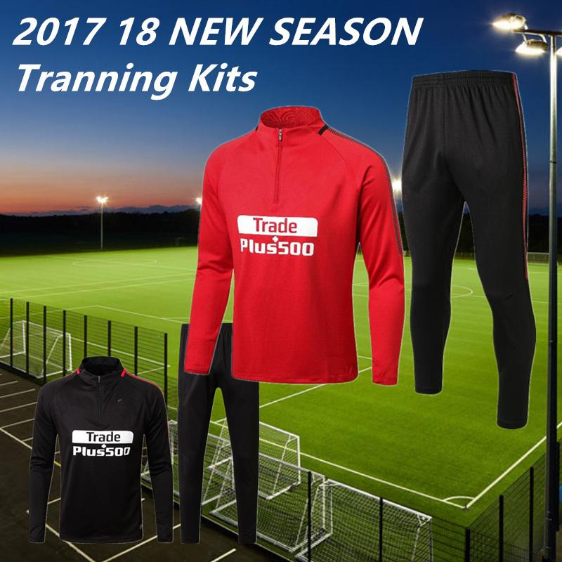 2018 NEW MADRID Training SUITS KITS Outfits Tracksuits FOOTBALL ...