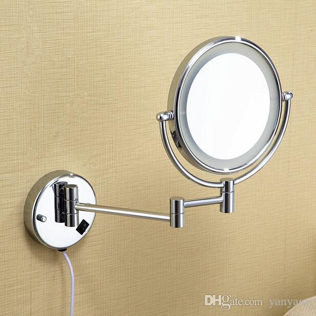 8led light wall mounted round magnifying mirror led makeup mirror 8led light wall mounted round magnifying mirror led makeup mirror battery make up ladys private mirrors makeup mirror mirror online with 5955piece on aloadofball Gallery