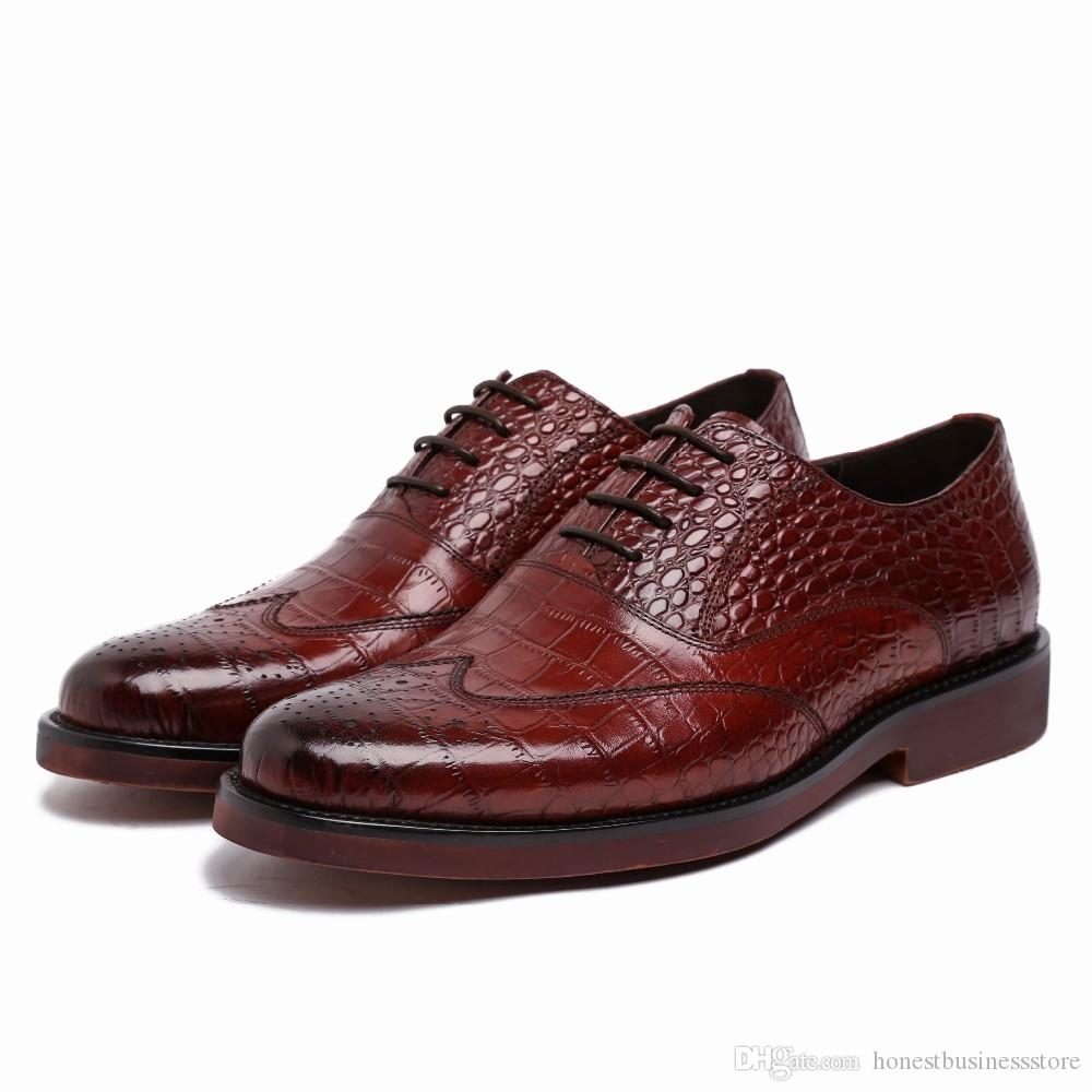 Cow Skin Dress Shoes