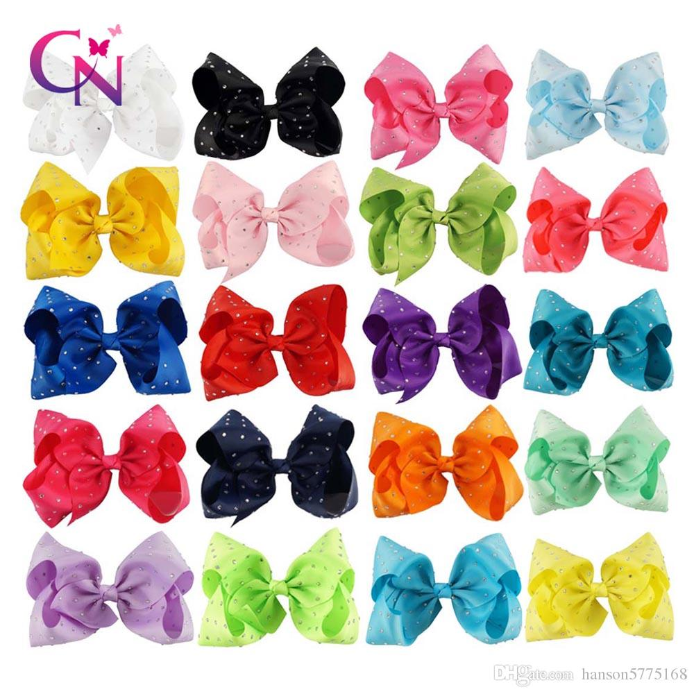 8 Inch Fashion Jojo Siwa Large Hair Bows Grosgrain Ribbon