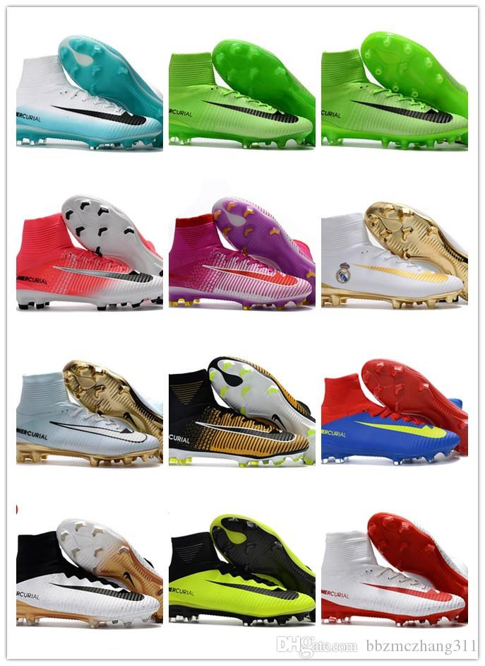 Chaussures de football CR7 Superfly V FG Chaussures de football Ronaldo Superfly