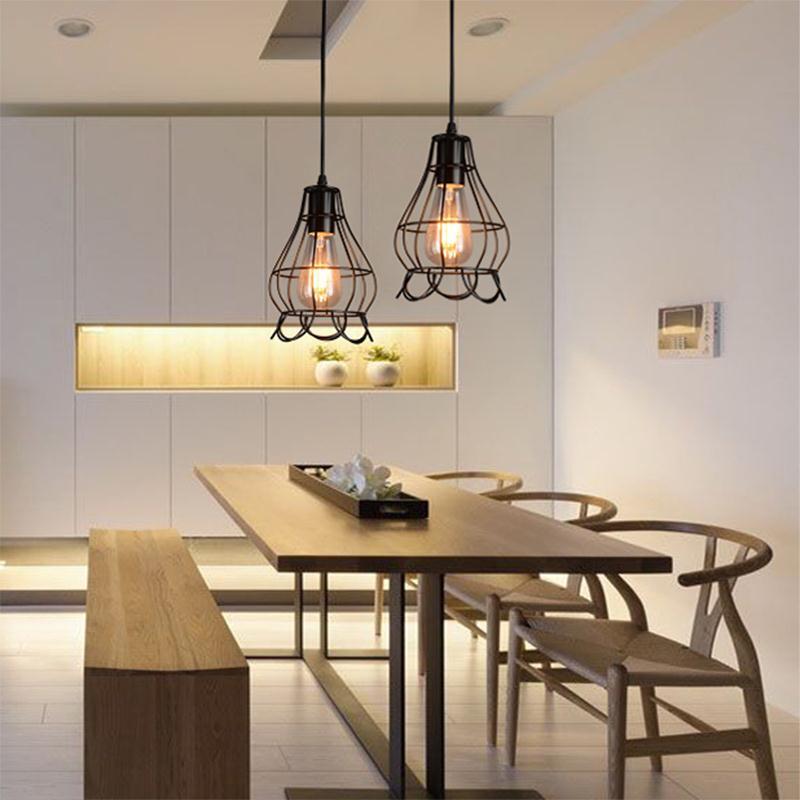 Vintage Industrial Pendant Light Minimalist Loft Retro Lamps Cafe