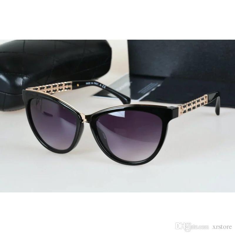 designer sunglasses women  Cat Eye Polarized Women Sunglasses Designer Sunglasses Metal+Plack ...