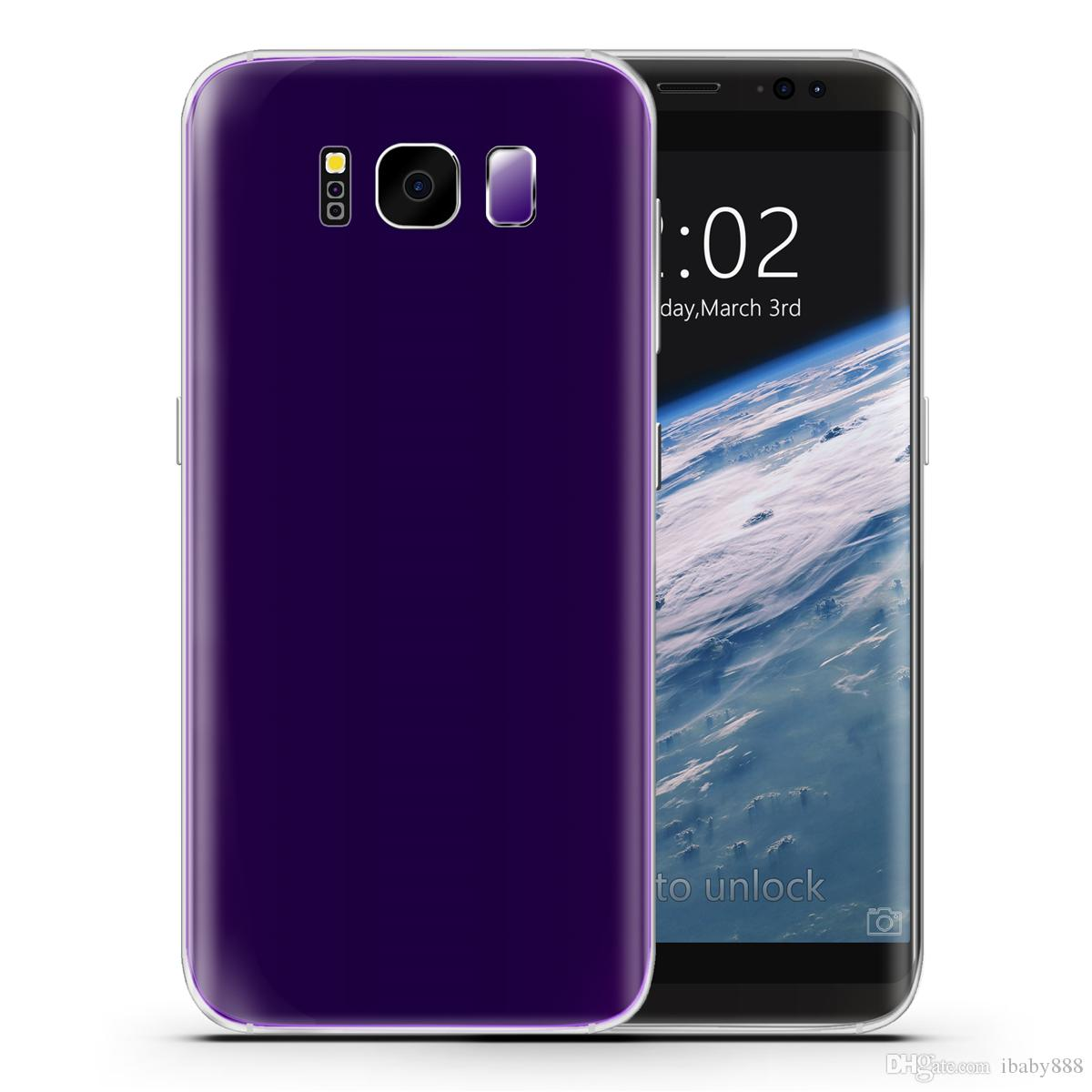 Purple Goophone S8 S8 + V4 1: 1 Clone Touch ID Scanner d'empreintes digitales 5.