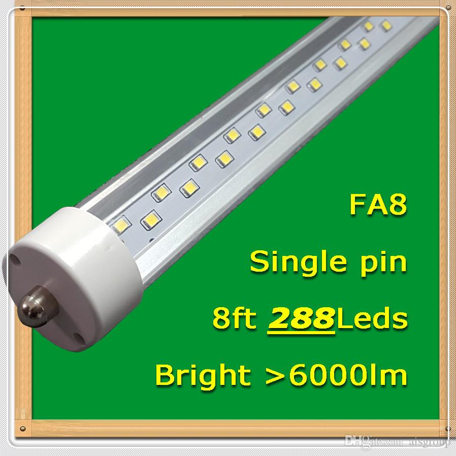Fa8 288 Tubes Led 25pcs / lot