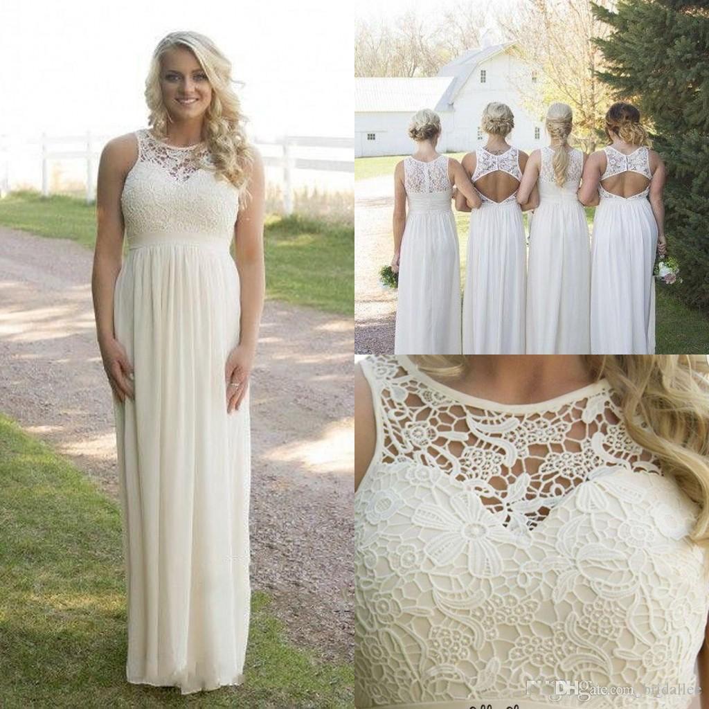 Summer plus size bridesmaid dresses