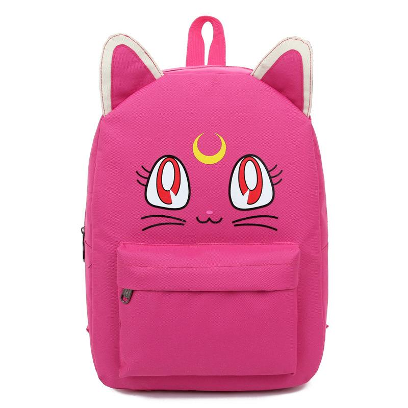 2017 Cute Cat Ear Backpacks for Teenage Girls School Bags for ...