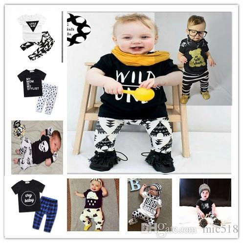 2017 Summer Infant Clothes Baby Clothing Sets 9 Type Model