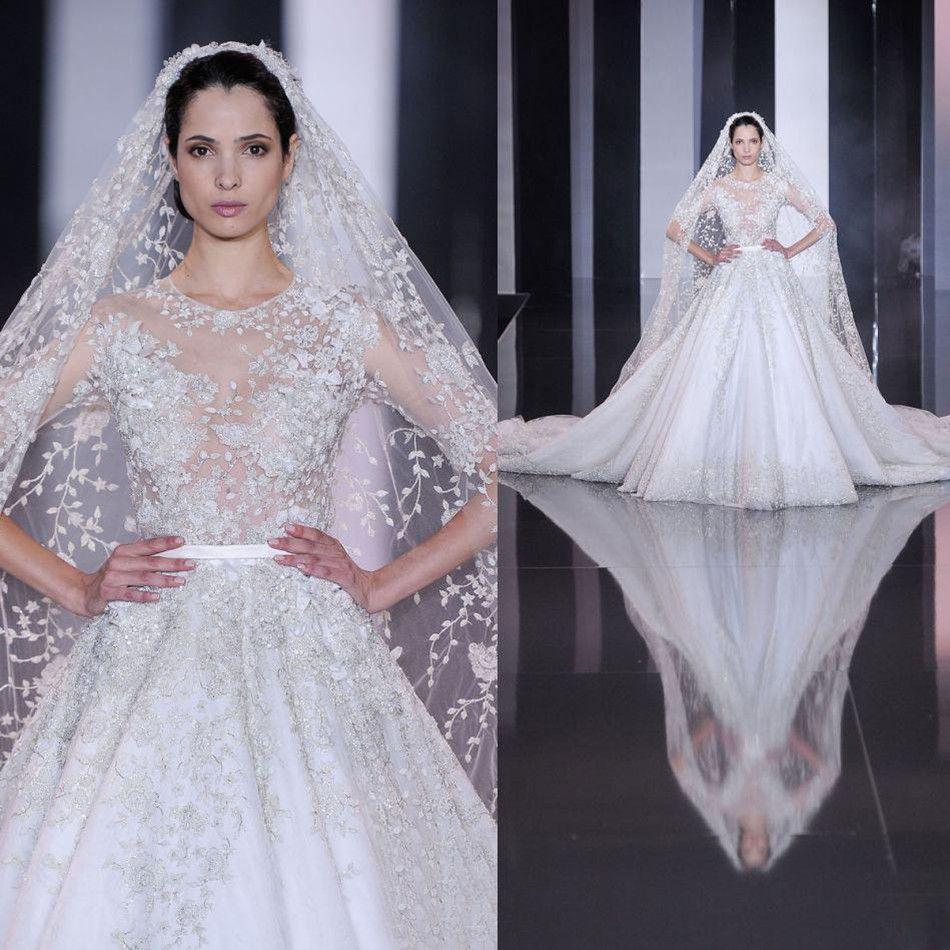 luxury designer tulle wedding dresses 2017 new arrival fashion