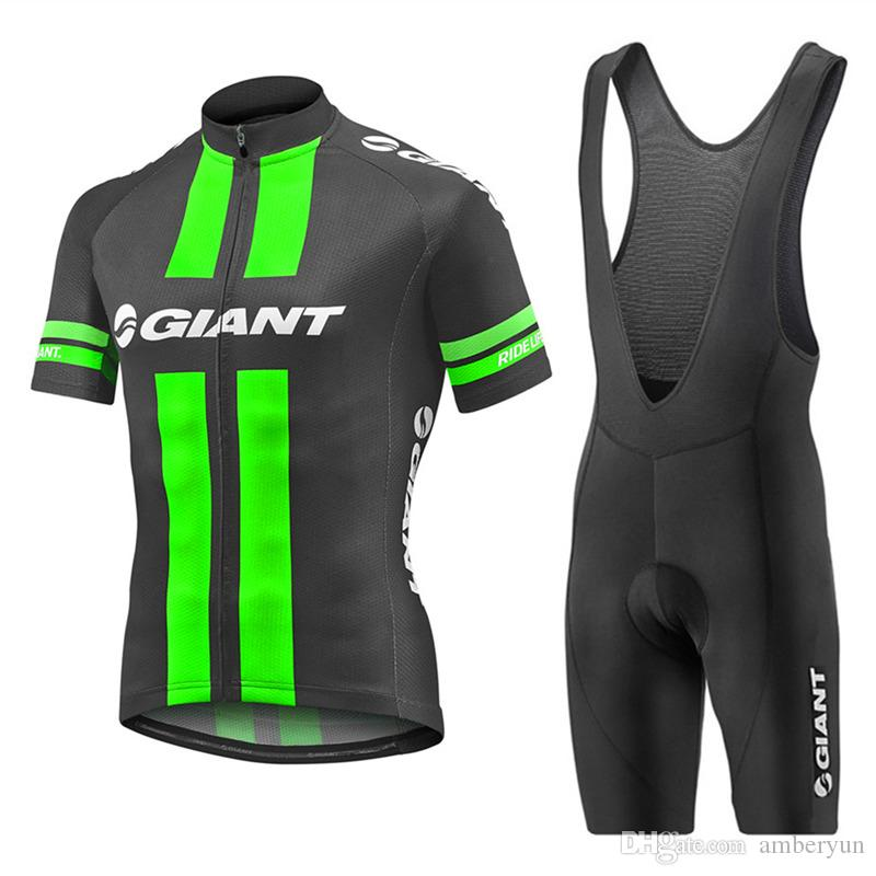 Giant 2017 Pro Cycling Jersey Ropa Ciclismo hombre Bicycle Sport Short Sleeve Ma