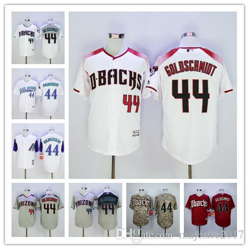 Arizona Diamondbacks 44 Paul Goldschmidt Jersey Flexbase Coolbase Cooperstown Ma