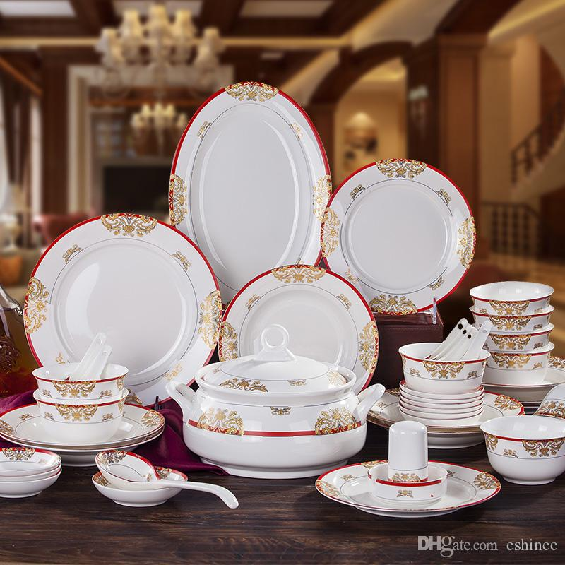 hot sale eco friendly porcelain tableware dinnerware set bone china dinnerware sets swan lake. Black Bedroom Furniture Sets. Home Design Ideas