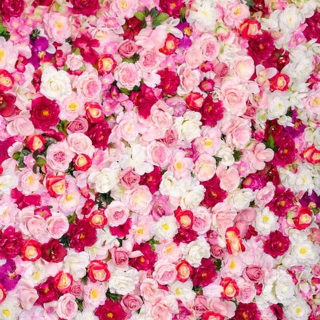 2018 10x10ft White Pink Red Roses Photography Backdrops
