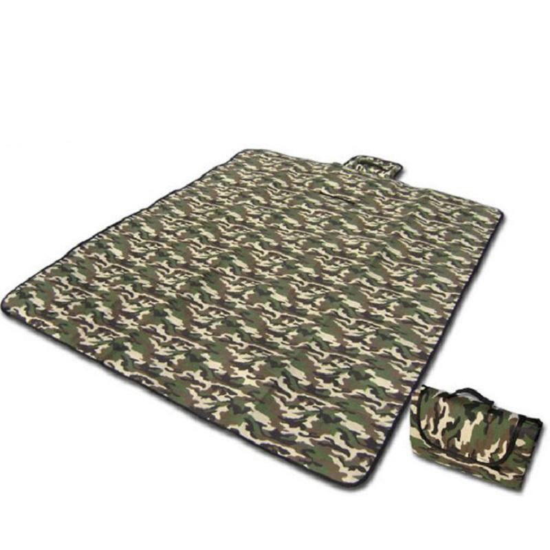 180x150cm Camouflage Camping Mat Picnic Blanket Foldable