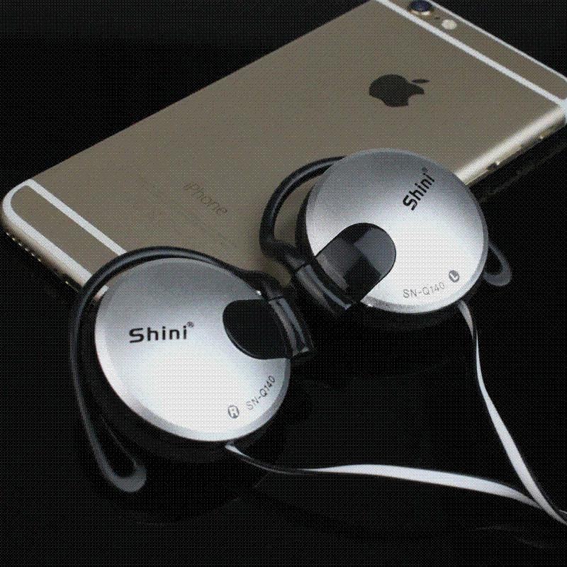 DAONO Q140 Bass Headphones Stereo Earphone Hifi Ear Hook Headset Microphone Mobile phone xiaomi iphone
