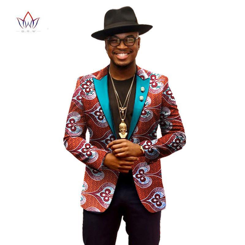 2017 2017 Spring Blazers Men Blazer Costume Homme Africa Bazin Riche 6xl Mens Clothing Vestidos