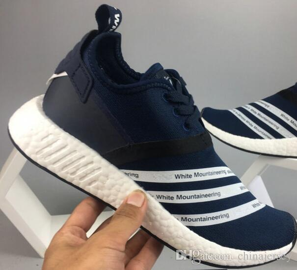 Cheap Adidas NMD R1 PK Primeknit Tri Color White Grey US Size 9.5