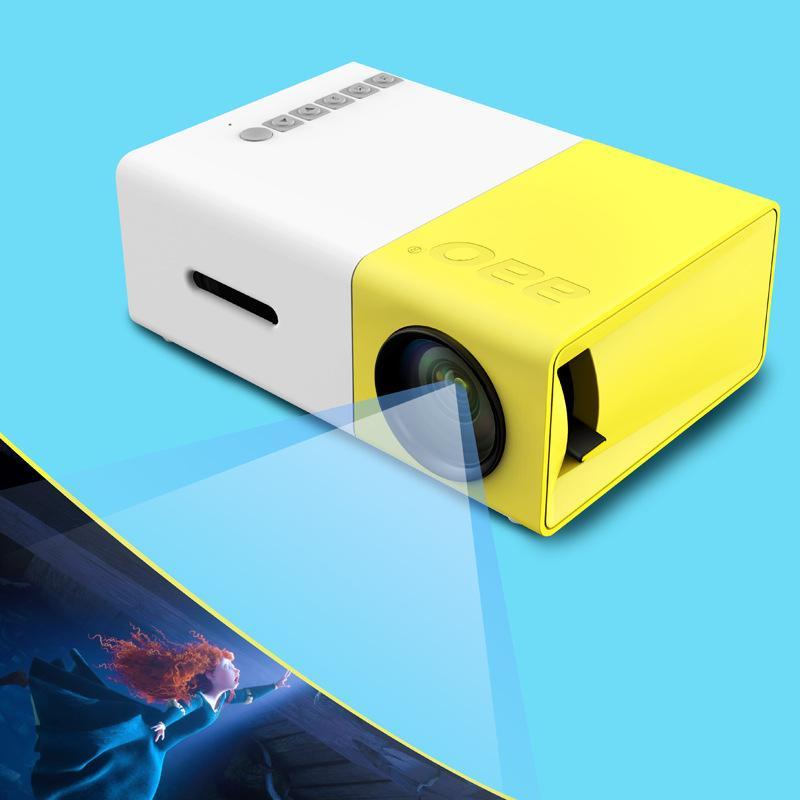 Yg310 Lcd Projector 600lm 320 X 240 1080p Mini Portable Hd: Newest Original Yg 300 Lcd Projector Mini Portable 400