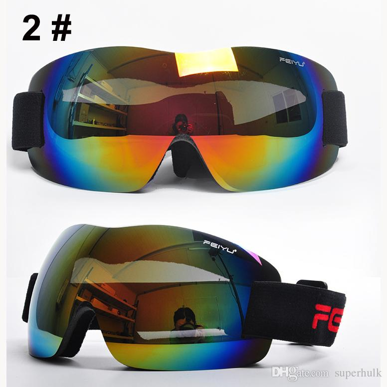 Frameless Motorcycle Glasses : 2017 2017 New Fashion Frameless Ski Goggles Anti Fog Uv400 ...