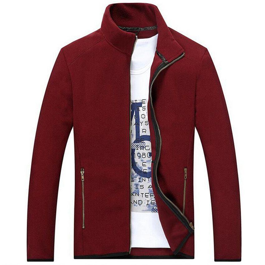 wholesale polar fleece mens jackets coats long sleeve thin sweatshirts 2016 new spring autumn. Black Bedroom Furniture Sets. Home Design Ideas