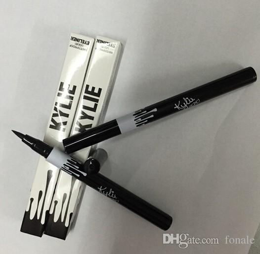 Hot Kylie Jenner Black Liquid Eyeliner Long-durable Imperméable Eye Liner Pencil