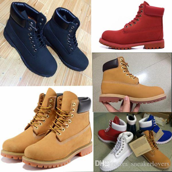 Best Martin Boots Big Yellow Boots Brand Mens Women Genuine ...