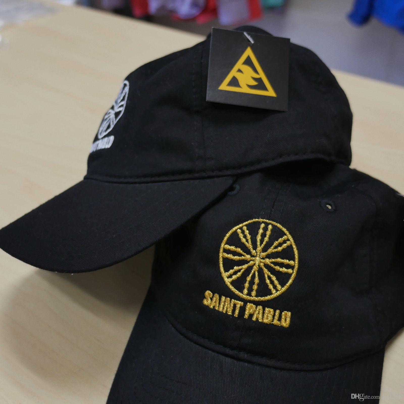 Kanye West Saint-Paul World Tour-Merch-Dad Hat Broderie Haute qualité