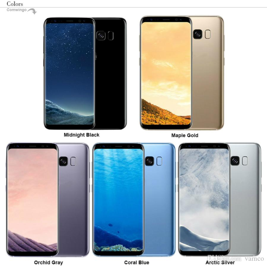 Goophone S8 S8 Plus Téléphone Android MTK6735 MTK6580 Quad Core 1G Ram 16 Go Rom