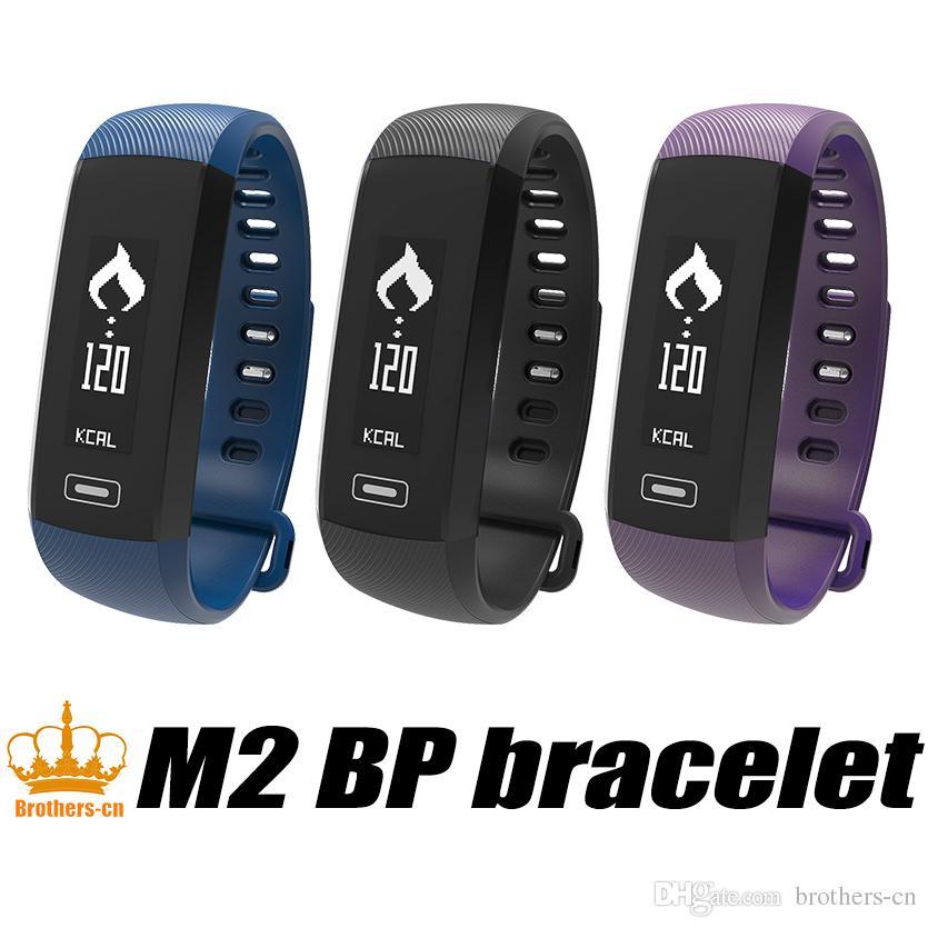 Oxymètre d'oxygène de sang Smart Band M2 Smartband cardiofréquencemètre Pédomètre Bracelet Bluetooth Inteligente Pulso Pour iOS Android