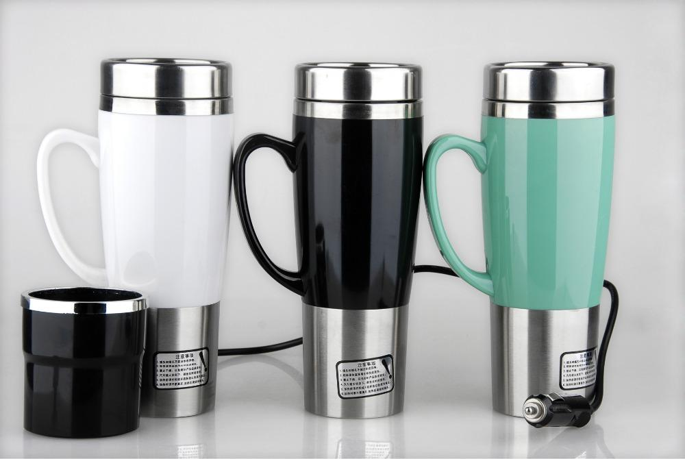 Car Heating Cup Auto 12 24v Heating Cup Electric Kettle