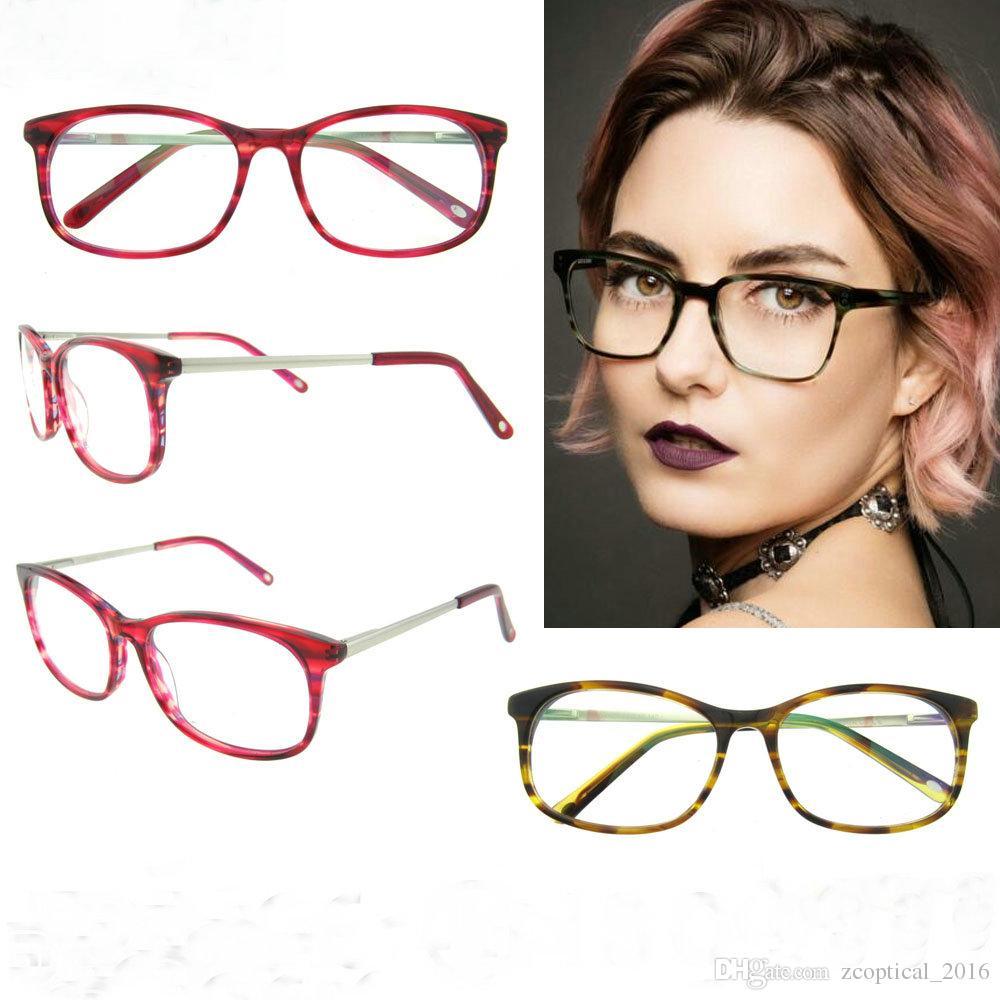 Reading Glasses Frame Names : Fashion Acetate Frame Reading Glasses Women Brand Vintage ...