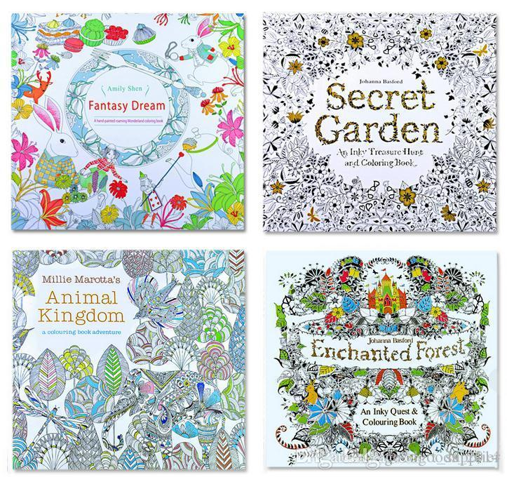 Prettybaby Secret Garden Coloring Book Painting Drawing