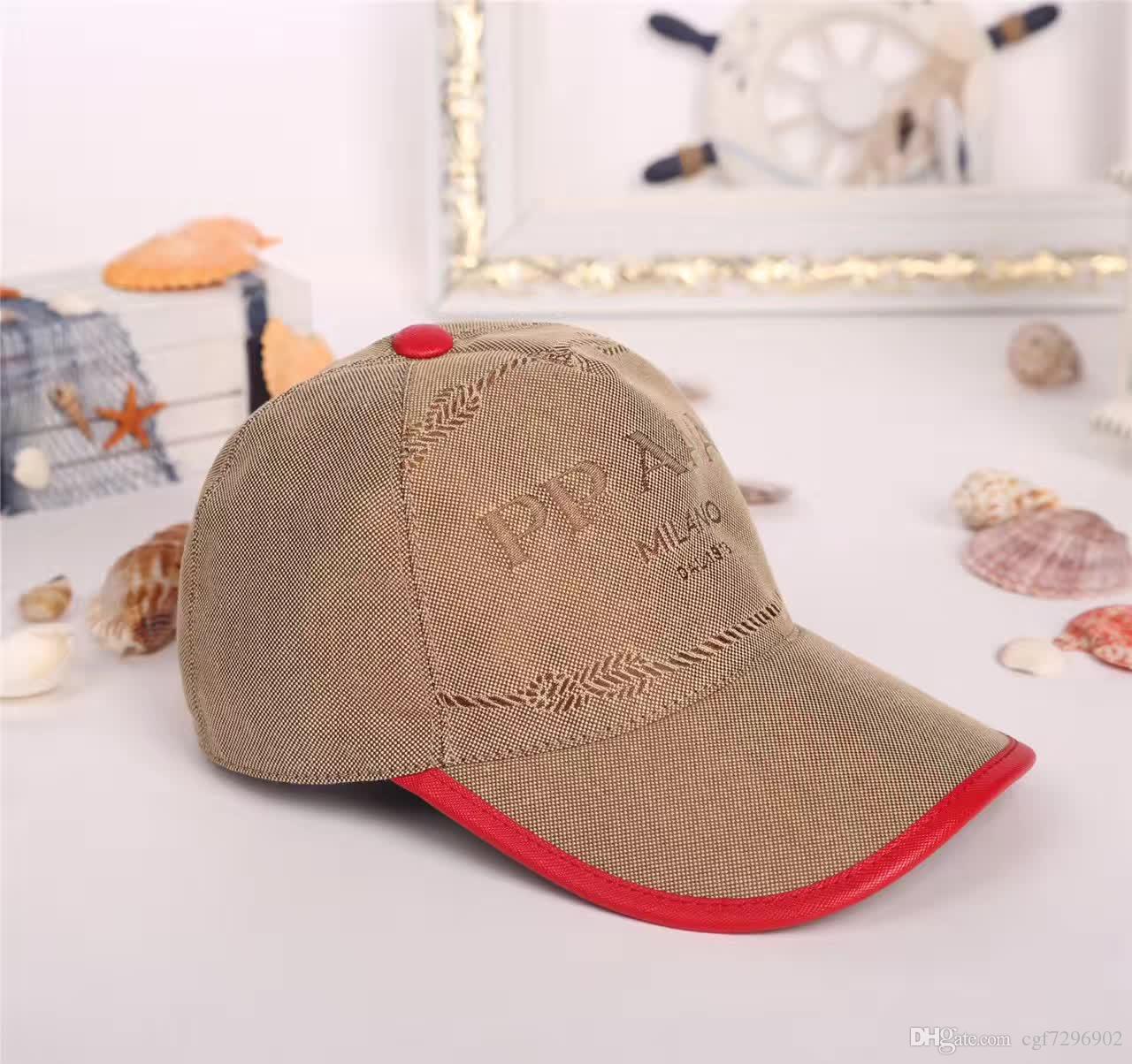 High End Luxury Brand Hats Fashion Designer Duck Tongue ...