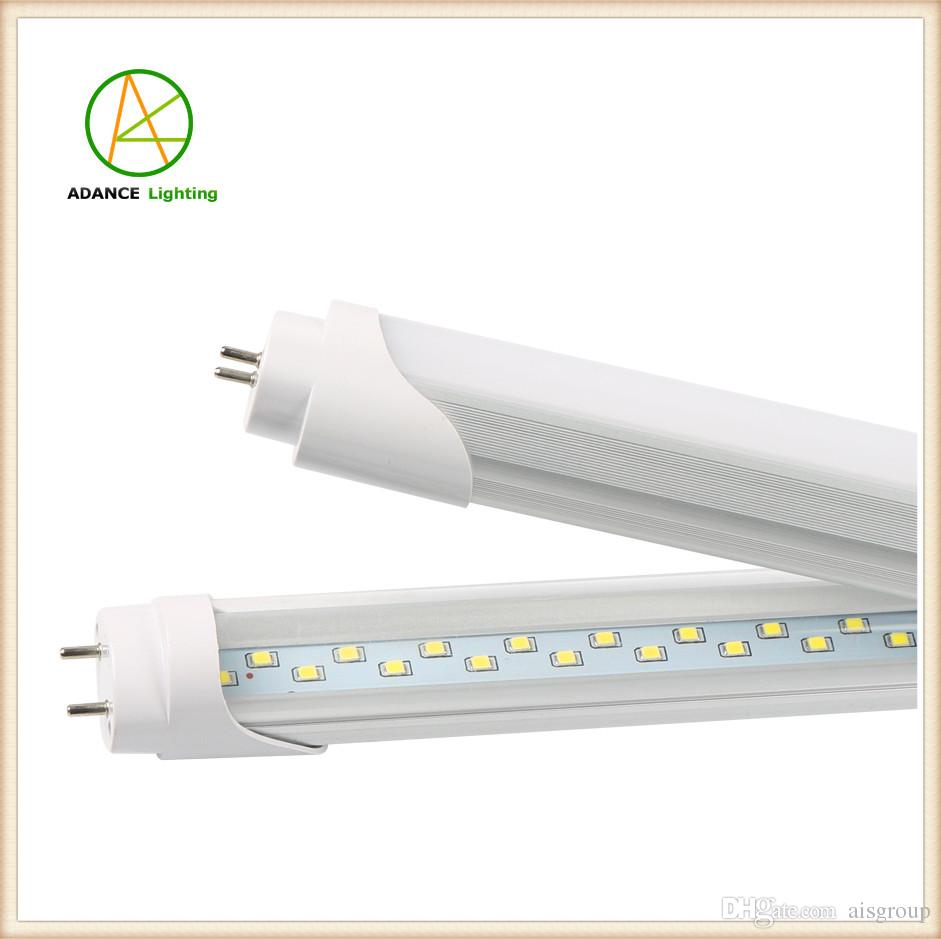 Smd 2835 Led Tube Lamp T8 4ft 28w Milky Clear Cover Led