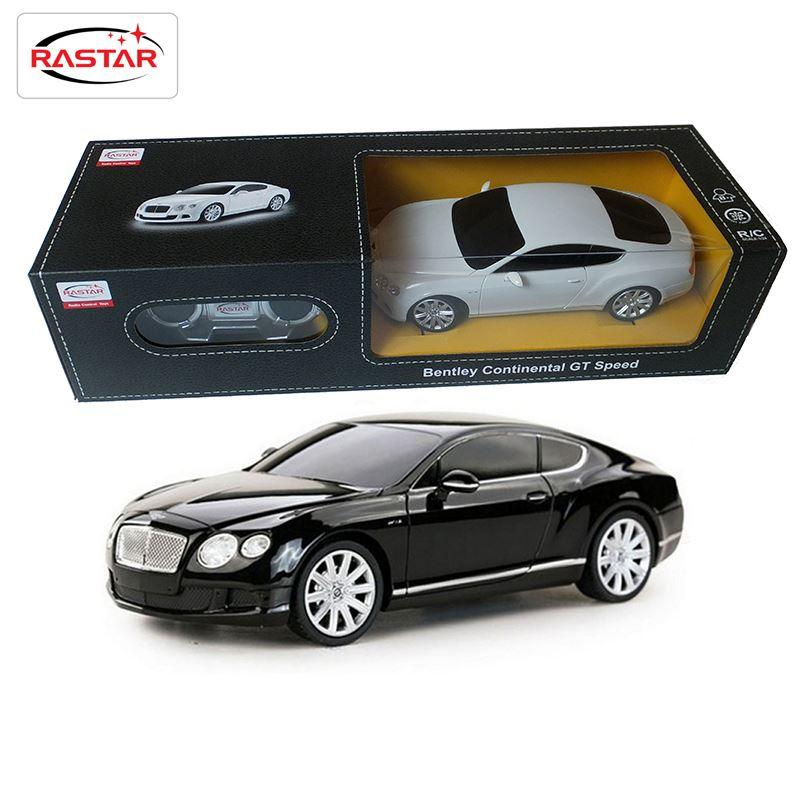 licensed rastar 124 scale bentley rc car remote control toys radio controlled cars boys