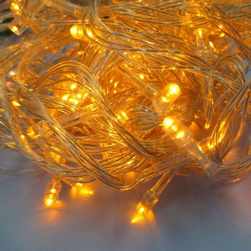 Cheap Wholesale Colorful Outdoor Fairy Led String Light Lamp Party Wedding Decor Clear String ...