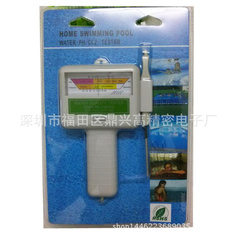 2017 Wholesale New Pc 101 Electronic Swimming Pool Spa Water Ph Cl2 Chlorine Tester Tool Ph Cl2