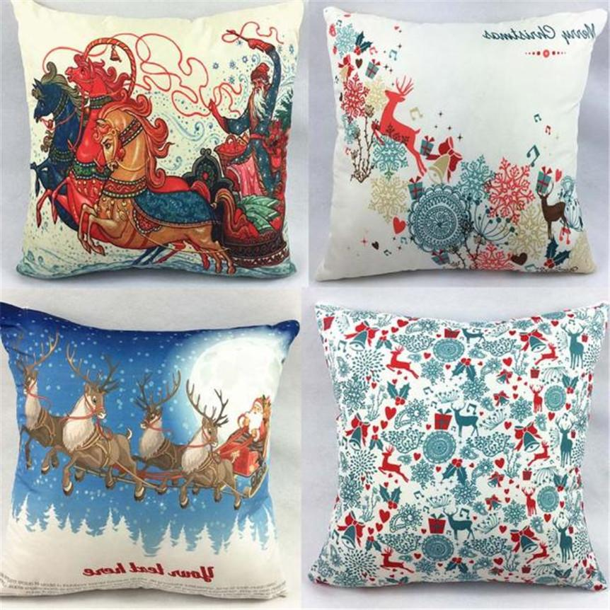 Home wider ouneed christmas sofa bed square pillow cover for Sofa bed for xmas
