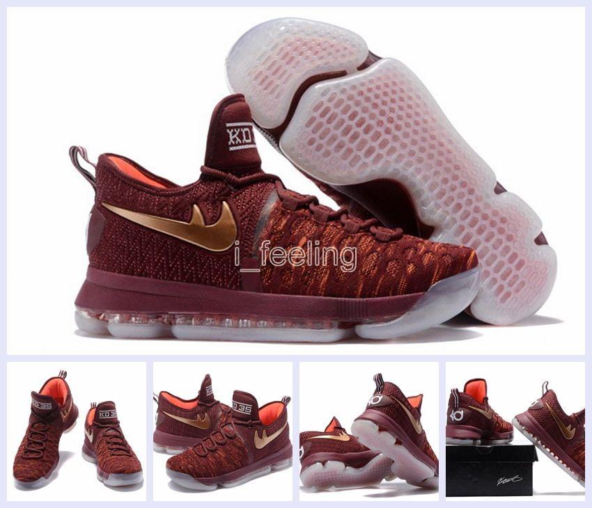 2017 New Air Zoom Kd 9 Xmas Ep Basketball Shoes Kd 35 ...