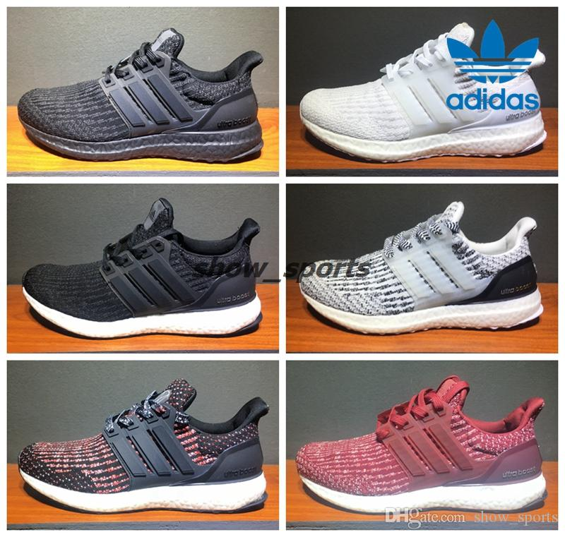 Adidas Ultra Boost 3.0 Triple Black White Primeknit Oreo CNY Pink Men Women  Running Shoes Sport Original Ultra Boosts Ultraboost Sneaker Adidas Ultra  Boost ...