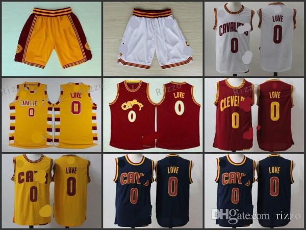 A + Free Shipping High-quality 2017 new arrival, Cleveland, Kevin 0 Love, short