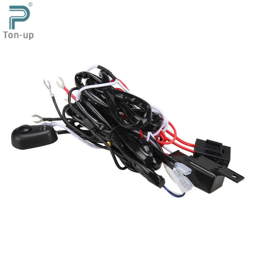 Universal Automobile Wiring Harness : Online cheap universal car fog light wiring harness kit