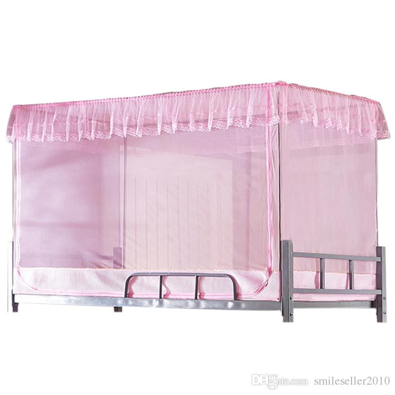 Bed canopies student mosquite net bunk bed mosquito net for Rectangle bed canopy