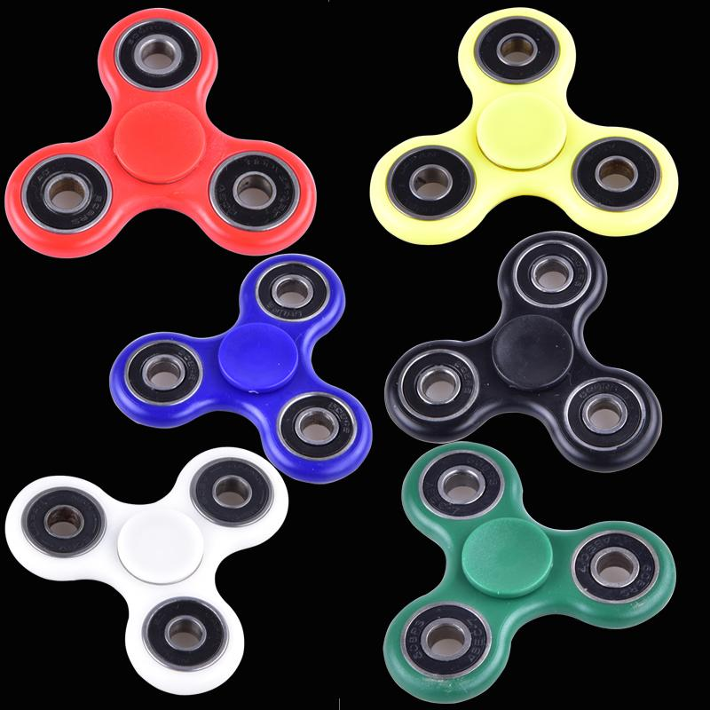 EDC Fidget Spinner toy finger spinner toy Hand tri spinner HandSpinner EDC  Toy For Decompression Anxiety Toys with retailed box oth348