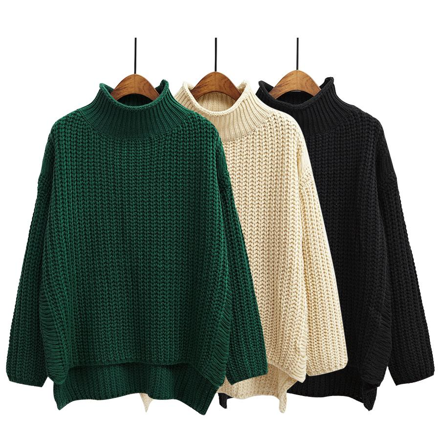 Wholesale- Autumn Women Sweaters And Pullovers Cute Winter New ...