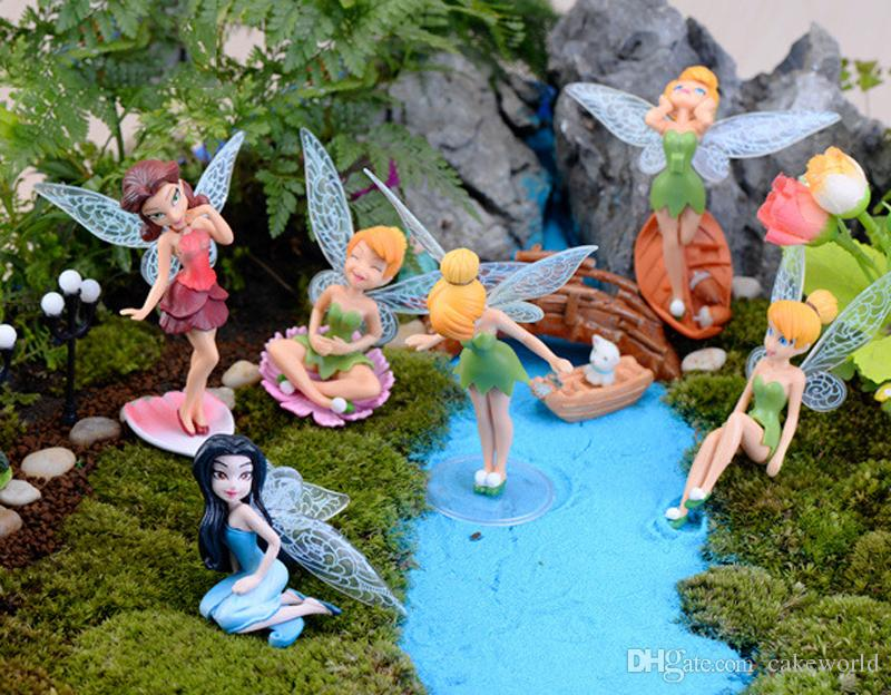 2017 genius elf mini figure character fairy tale resin for Deco jardin miniature